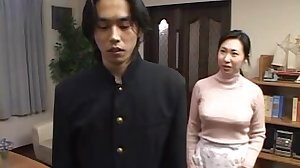 Japanese mother Taken By son's friend