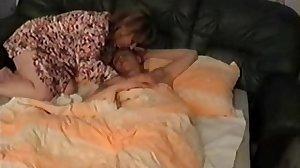 Russian mom wakes Son's friend for fun