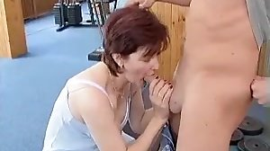 Mature Elaine or Claire fuck young boy..