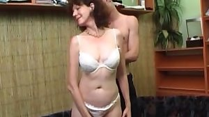 Old Hot Milf Fucked by young boy with..