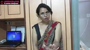 Indian Aunty Teaching..